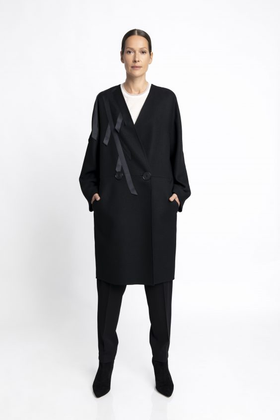Merino-wool coat PAT