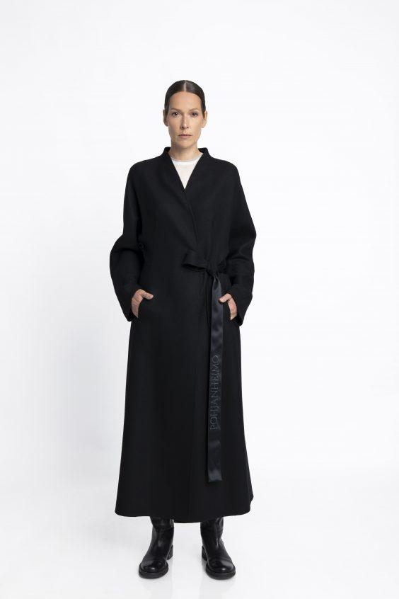 Luxurious cashmere coat PETA