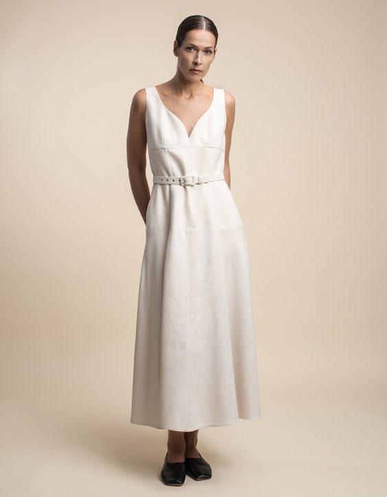 Pohjanheimo silk dress RINA