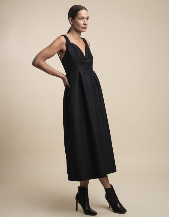 Pohjanheimo linen cotton dress Raine