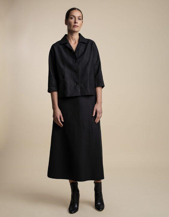 Pohjanheimo linen cotton skirt REI