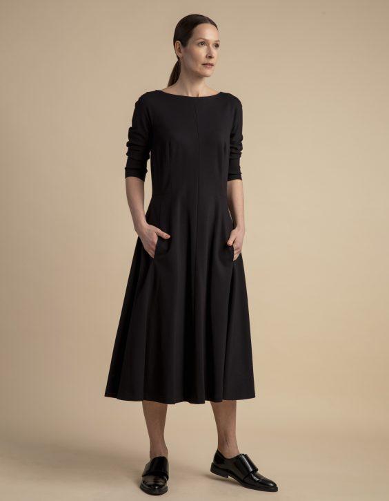 Pohjanheimo cotton viscose dress julia