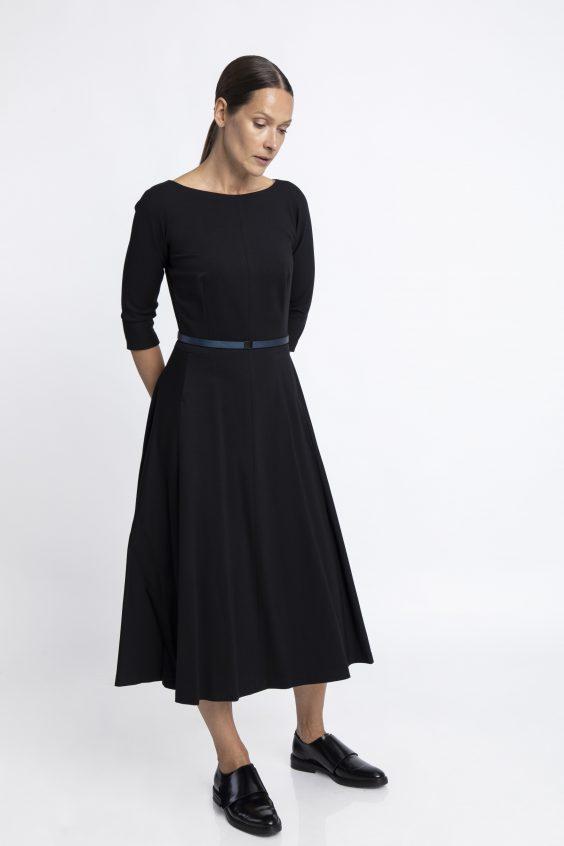 Cotton viscose dress JULIA